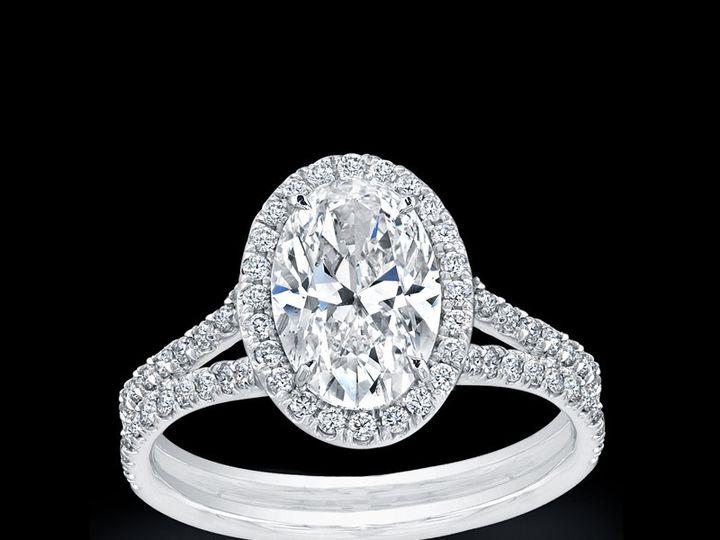 Tmx 1377118630585 Split Shank Oval Norman Silverman Plymouth wedding jewelry