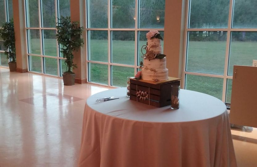 wedding photo cake