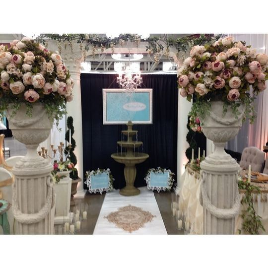 bridal show booth pic