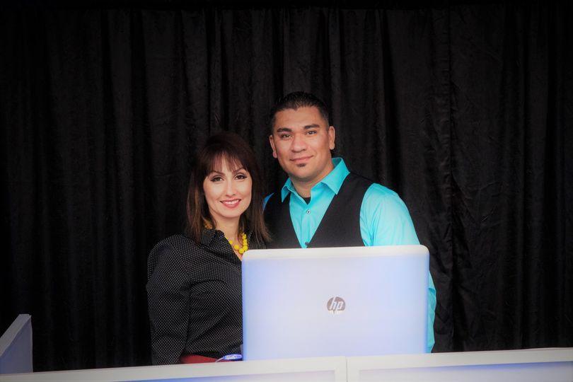 Mr. DJ & Mrs. Event Planner