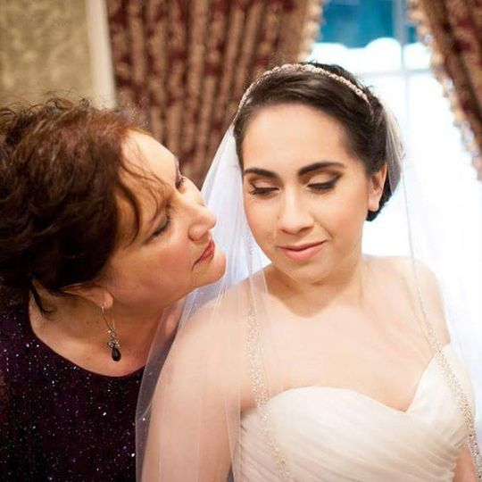 The mother and bride