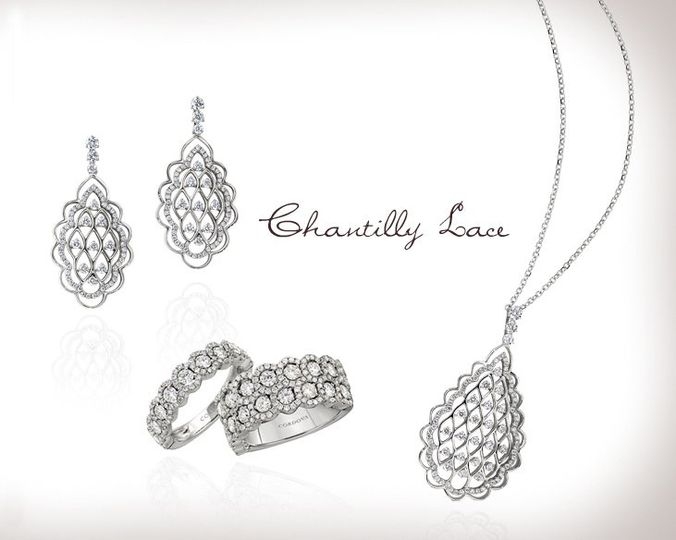 Chantilly Lace Collection from Cordova Jewelry