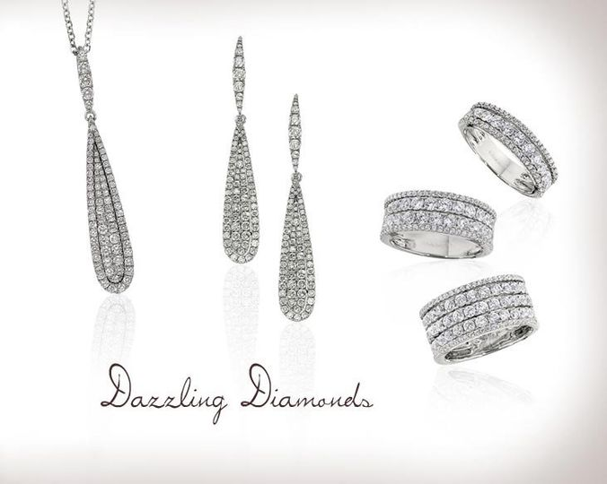 Dazzling Daimonds from Cordova Jewelry