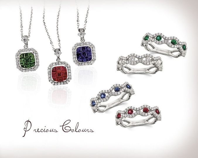 Precious Colors from Cordova Jewelry