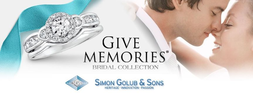 Simon Golub & Sons Bridal Collection Let you create memories...