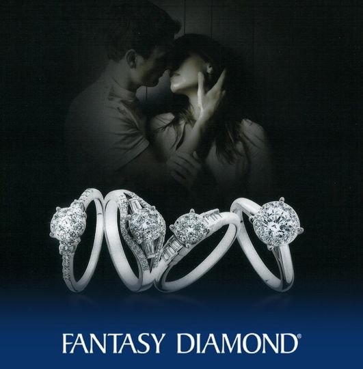 Fantasy Diamond Engagement Rings