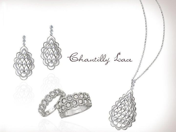 Tmx 1338837441884 4chantillylace Belleville wedding jewelry
