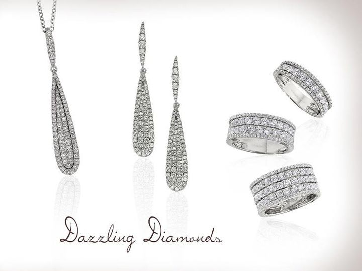 Tmx 1338837458229 7dazzlingdiamonds Belleville wedding jewelry