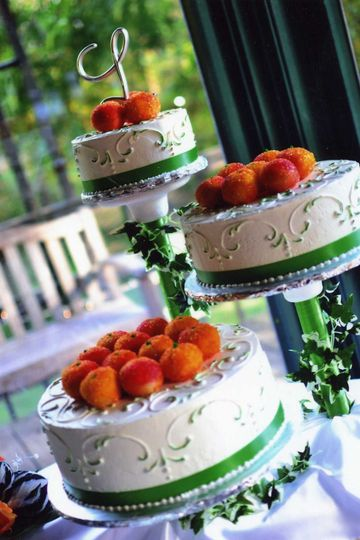 Wedding Cake by co-owner and Executive Pastry Chef Doris Saha