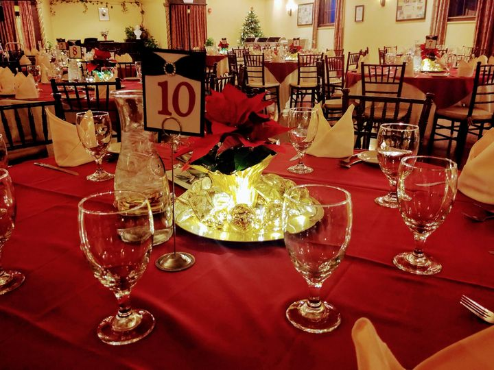 holiday party table 51 935248