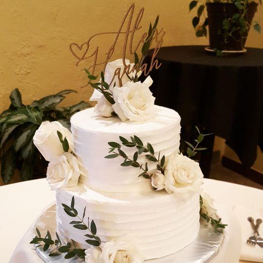 Handcrafted Wedding Cake