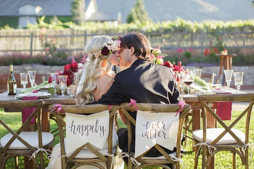 Talbott Vineyards Styled Shoot - Photo by Laura Hernandez