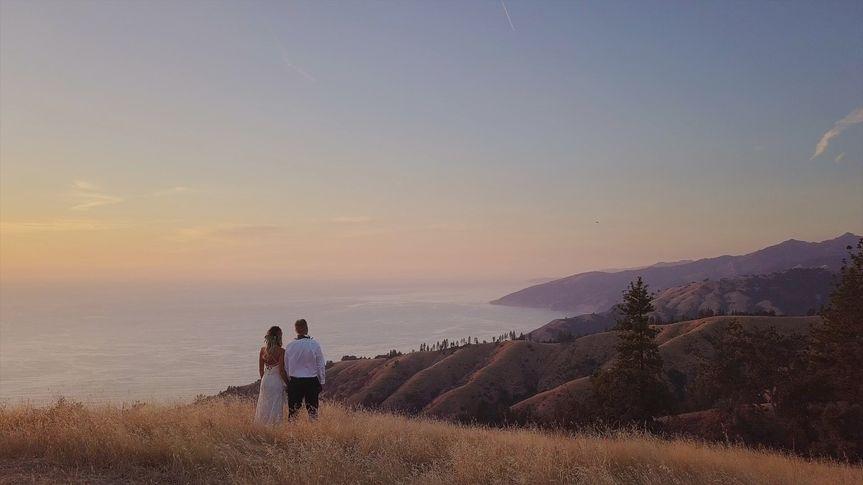 Big Sur Wedding Couple