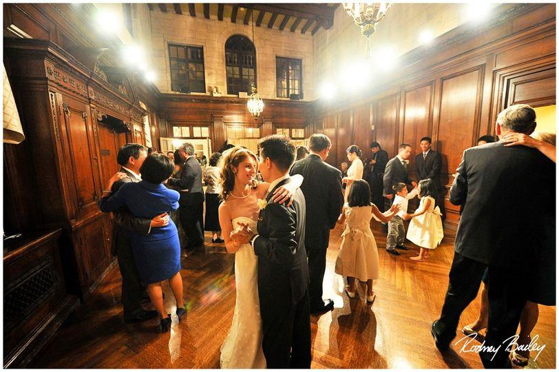 Music room dancing