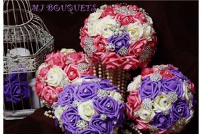 MJ Bouquets-Ramos en Broches MJ