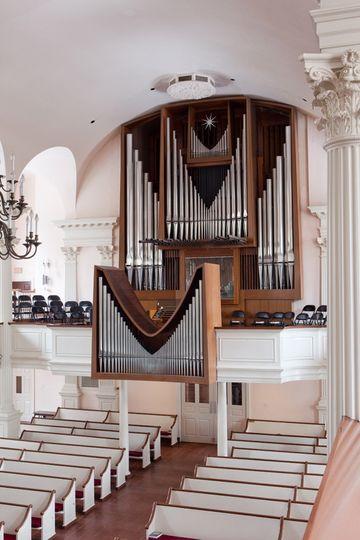 Our famous Reiger Organ