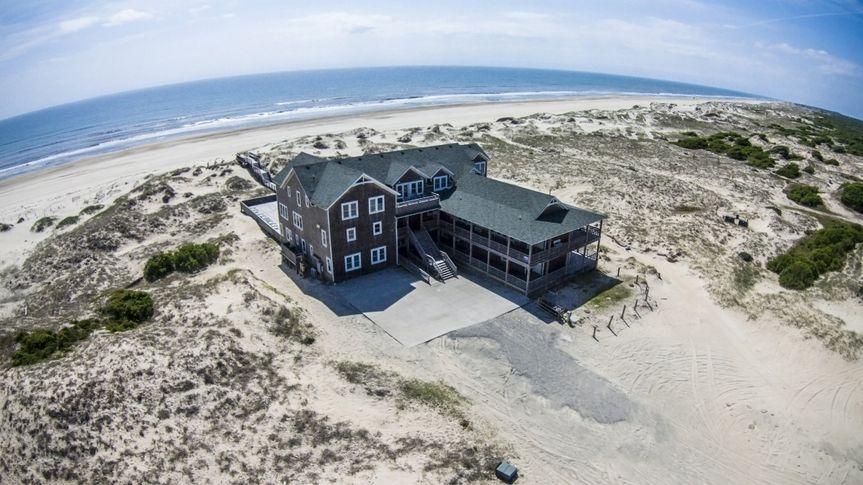 Aerial view of Wild Horse Coastal Estate
