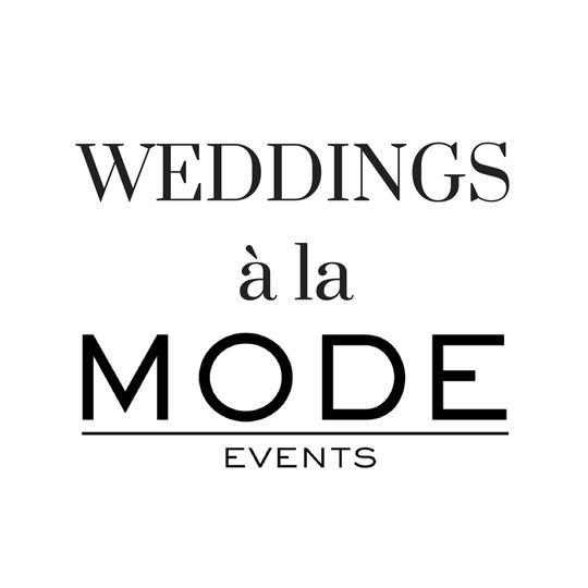 weddings a la mode logo 51 654348 159902133254737
