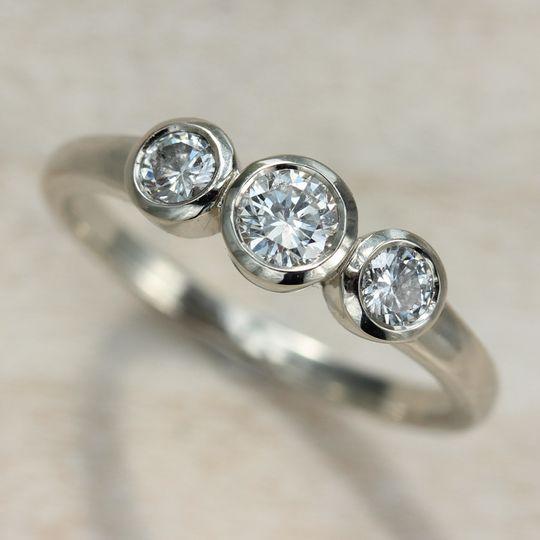 stone ring diamond white gold 1 copy