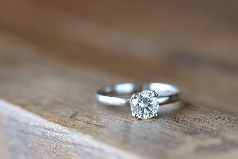6mm crown recycled diamond palladium 1