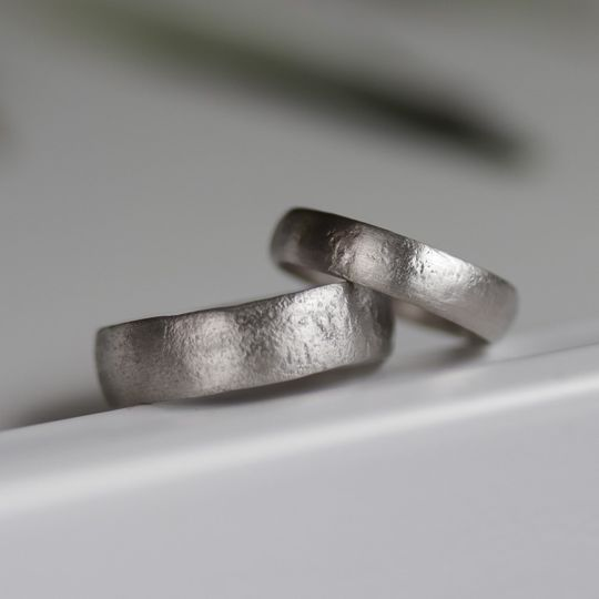 His & His Wedding Bands