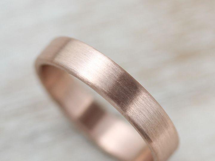 Tmx 1435273611736 4x1.25mm Edgelesss Band 14k Rose Gold 1 Copy Seattle, WA wedding jewelry