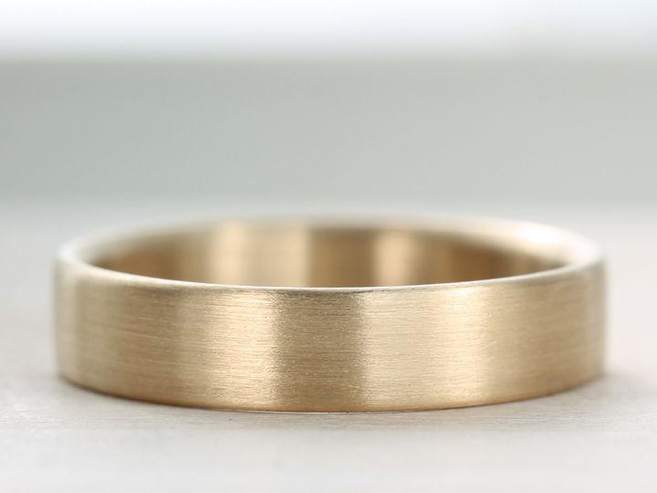Tmx 1435273783616 5x1.5mm Edgeless Band 10k Yellow Gold 1 Copy Seattle, WA wedding jewelry