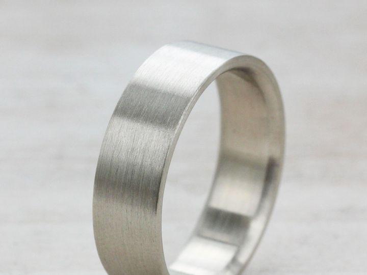 Tmx 1435273911567 6x1.5mm Flat Band 14k White Gold  1 Copy Seattle, WA wedding jewelry
