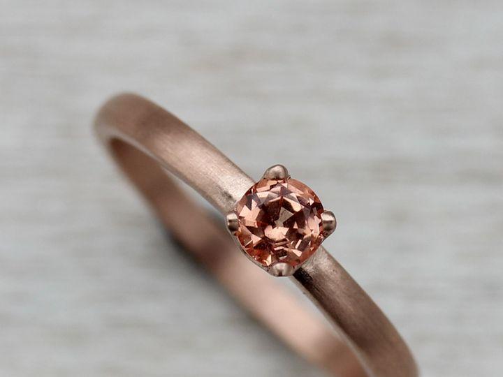 Tmx 1435274061103 14k Rose Gold And Padparacha Sapphire 1 Copy Seattle, WA wedding jewelry
