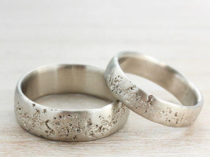 Tmx 1435274160414 His  Hers Concrete Rings 14k White 1 Copy Seattle, WA wedding jewelry