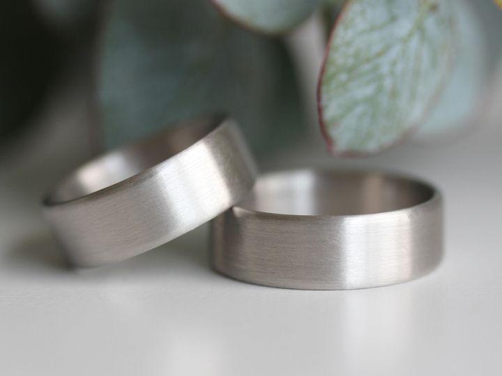 Tmx 1495667817745 7x1.5mm Edgeless Flat Palladium Set 1 Seattle, WA wedding jewelry