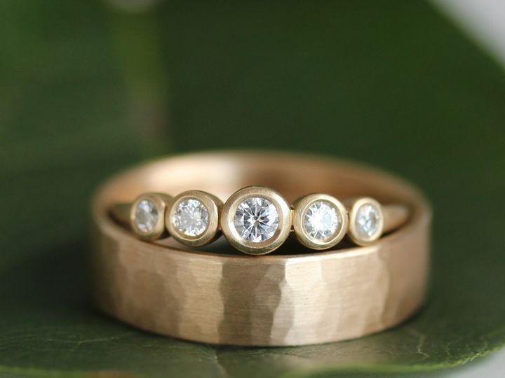 Tmx 1495667892281 Leaf Band Set 1 Seattle, WA wedding jewelry