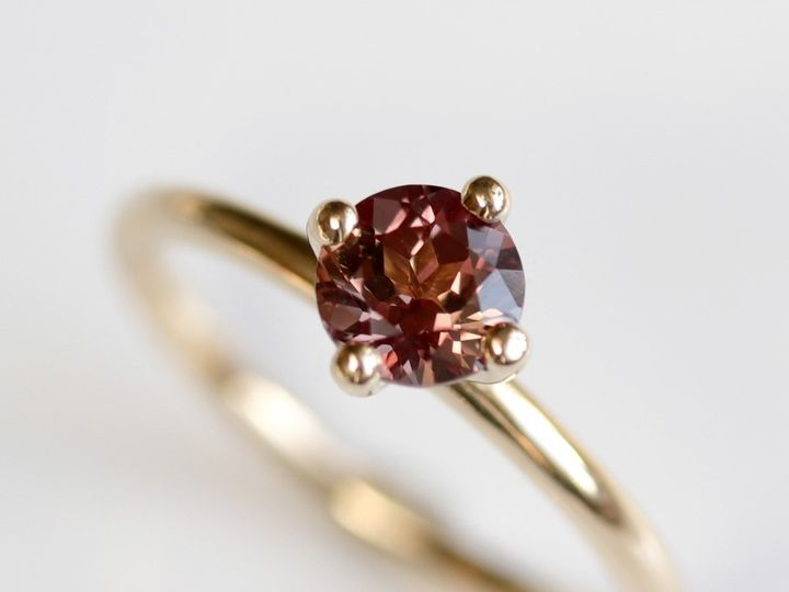 Tmx Burgundy Sapphire Engagement Ring Sapphire Solitaire Yellow Gold Ring Red Sapphire Ring Fair Trade Sapphire Engagement Ring Minimal Prong Set Engagement 51 578348 1560193690 Seattle, WA wedding jewelry