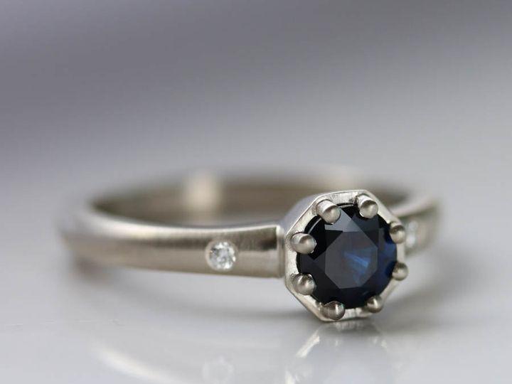 Tmx Octagon With Au Sapphire 51 578348 Seattle, WA wedding jewelry