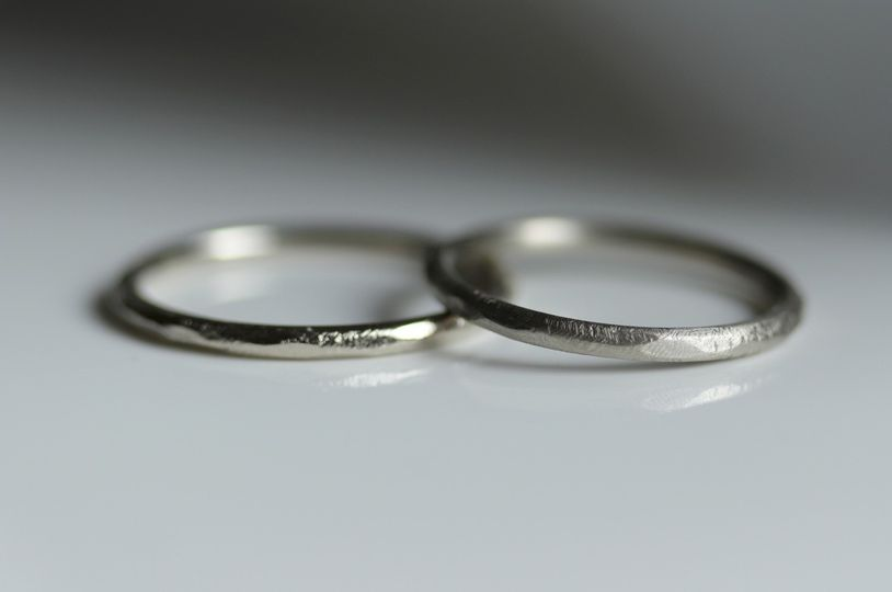 Hers & Hers Wedding Band set