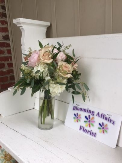Bouquet and store card