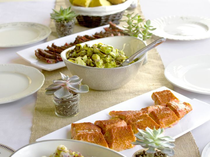 Tmx 1507048543360 Old Blue Bbq Table Alexandria, District Of Columbia wedding catering
