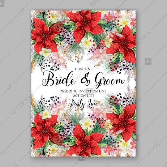 Vector template for wedding