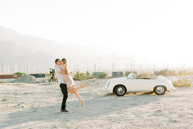 PALM SPRINGS ENGAGEMENT