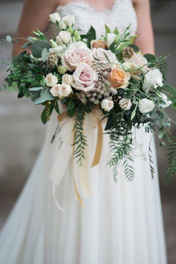 Sample bridal bouquet