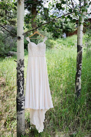 Wedding Dress in Aspen