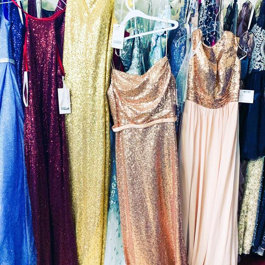 Bridesmaid dress shopping