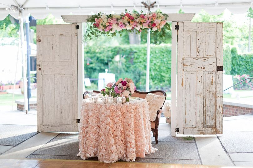 vintage garden wedding 8