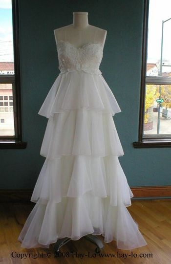 Hay Lo Reconstructed Vintage Wedding Gowns
