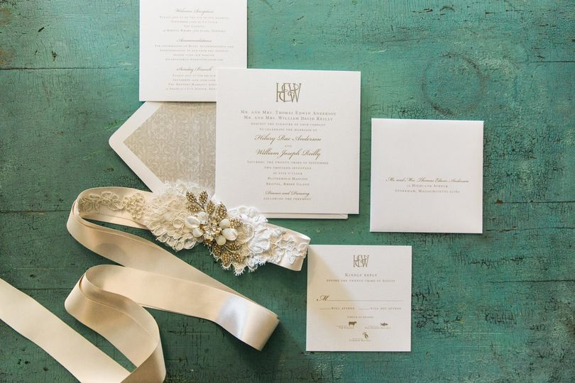 Sweet invitation suite