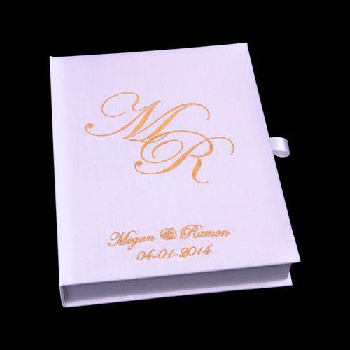 Tmx 1450283209422 Personalised Booktype Silk Invitation Box 691h Log Chester, NJ wedding invitation