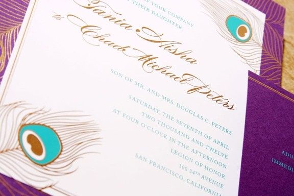 Tmx 1476725913732 Arabellapeacock Chester, NJ wedding invitation