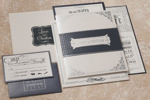 Tmx 1476726019427 323201174846pm Vintagefunkfullclosed Chester, NJ wedding invitation