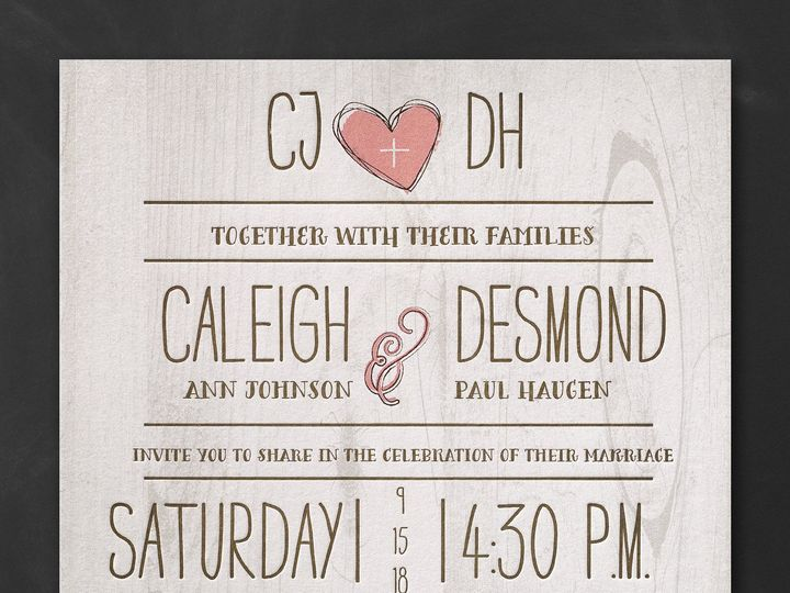 Tmx 1491583660581 Menke Chester, NJ wedding invitation