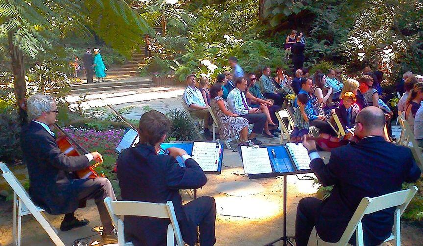 BBMP - String Theory Q Trio Plays Processional Summer Wedding